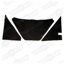 SOUNDPROOFING KIT-UNDERBONNET-3 PIECE-CLUBMAN