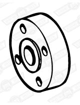 SPACER-FAN TO PULLEY-17mm-CLUBMAN-69-82