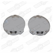 SPOTLAMP COVER-CLEAR MINI BRANDED-PAIR