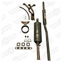STAGE I KIT- 1275 SALOON HIF38 CARB T/BOX C/EXIT K&N ELEMENT