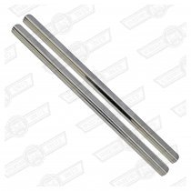 STEP TRIMS-PLAIN STAINLESS STEEL, PAIR