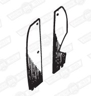 TAIL LAMP LINERS-PAIR-VAN WITH WOODEN LOAD FLOOR