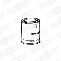 TRIM ADHESIVE-BRUSH ON-1 LITRE TIN