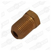 TUBE NUT-BRASS, BRAKE PIPE UNION-M12-MALE