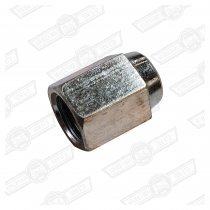 TUBE NUT-STEEL, BRAKE PIPE UNION-3/8'' UNF-FEMALE