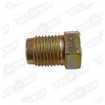 TUBE NUT-STEEL, BRAKE PIPE UNION-M10 MALE