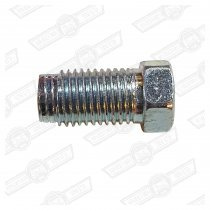 TUBE NUT-STEEL, BRAKE/CLUTCH PIPE UNION-3/8'' UNF-MALE