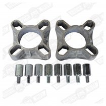 WHEEL SPACER KIT- 1 1/4'' ( 2 x spacers 8 stud bolts)
