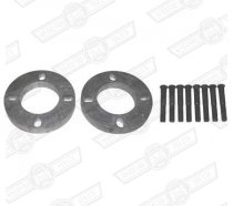 WHEEL SPACER KIT-3/8″ (2 x spacers, 8 x studs)