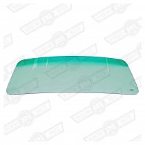 WINDSCREEN-LAMINATED WITH GREEN TOP TINT